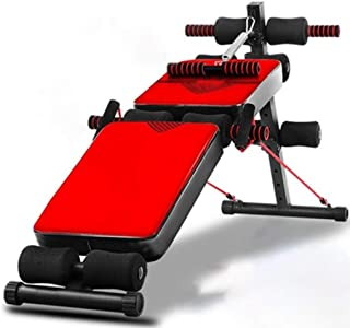 Ab Bench Exercises Sit Up Bench For Workout Foldable Sit-up Board, Household Multifunctional Abdominal Muscle Board, Dumbb...