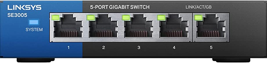 Linksys 5-Port Gigabit Ethernet Switch (SE3005)