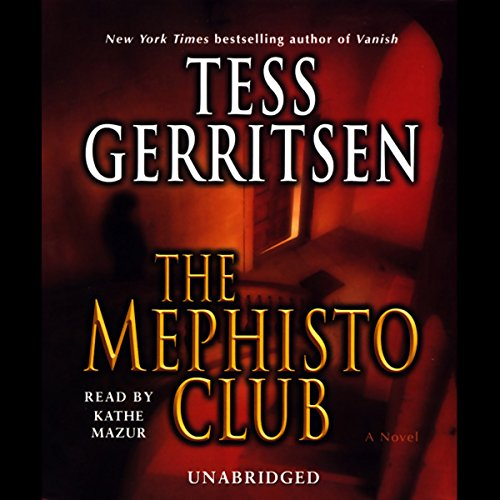 The Mephisto Club audiobook cover art