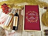 Coffret Cadeau Vins Noël'Couronne' (Anglais) + 2 bouteilles de Minuty Prestige Rosé et Rouge