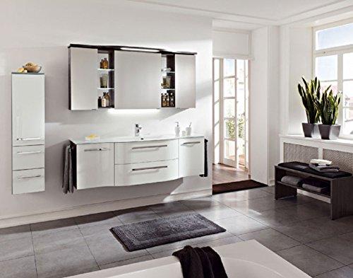 PELIPAL Contea 3 TLG. Badmöbel Set/Waschtisch/Unterschrank/Spiegelschrank