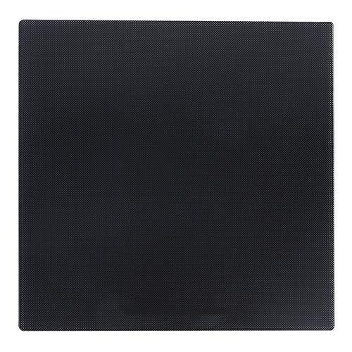 Piattaforma letto in vetro, letto riscaldato in vetro siliconico al carbonio da 235 x 235 mm Piano di stampa superficiale per letto caldo stampante 3D CR10 / Ender3 / 3S