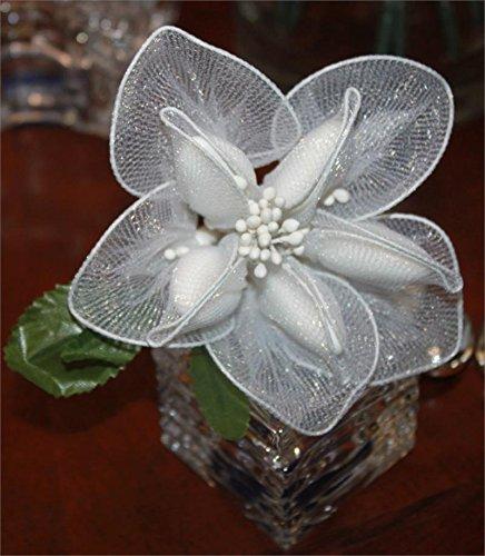 Jordan Almonds Flower Bouquet Wedding Favors in Calla Lily Design