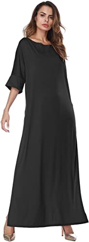 REFaño Bilateñal Split Big Dress, azul