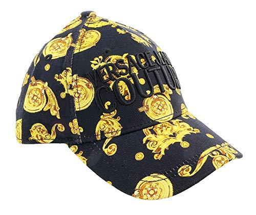 Versace Jeans E8GVBK04S0686899 Cappello Zubehör Schwarz Pz.