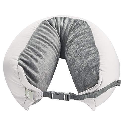 Delsey-Cuscino da viaggio, colore: grigio