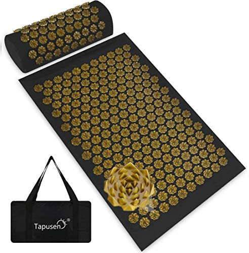 Acupressure - Acupoint Acupressure Mat and Pillow Set,Back and Neck Pain...