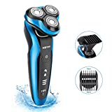 NOYMI Electric Shaver Razor for Men for 4D Rechargeable IPX6 Waterproof Rotary