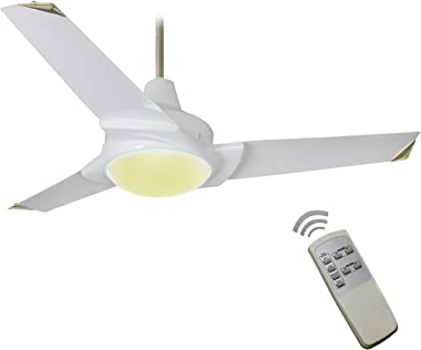 Breezalit Jet 48-inch 65-Watt Ceiling Fan (Glossy Ivory)
