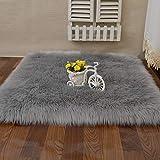 alfombra salon pelo largo verde