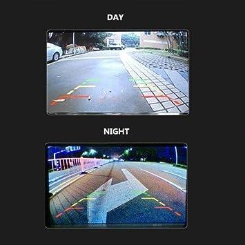 Camecho RC 12V Truck Rear View Wireless IR Night Vision Backup Camera Kit 7 TFT LCD Rear View Monitor Waterproof for Truck//Van//Caravan PAL/&NTSC High Solution 420 TVL