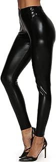 Women's Wet Look Shiny Metallic Stretch Leggings Pants Trousers