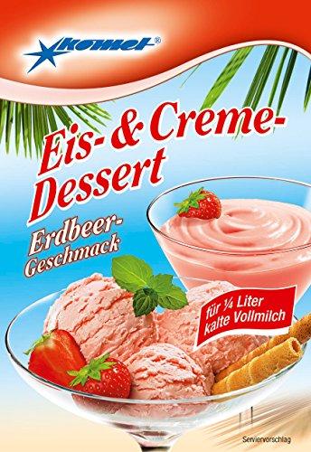 Gerolf Pöhle & Co.Gmbh Komet Eis-& Creme-Dessert Erdbeer 70g
