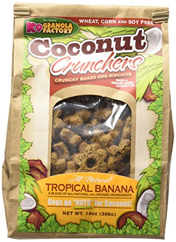 K9 Granola Factory Coconut Crunchers For Dogs All Natural...