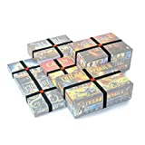 Premium Elastic Box Bands - Board Game Storage Solution to Keep Your Board Games, Tabletop Games, RPGs & Other Boxes Closed and Protected Without Rubbing! Extra Strong & Elastic Organizer (Set of 10)