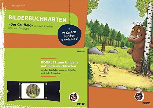Bilderbuchkarten »Der Grüffelo« von Axel Scheffler und Julia Donaldson: Mit Booklet zum Umgang mit 17 Bilderbuchkarten für das Kamishibai (Beltz Nikolo)