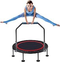 Trampoline 35 Inch Rebounder Fitness Trampoline Indoor Foldable Geruisloze Small Trampolines Verstelbare Handgreep For Kin...