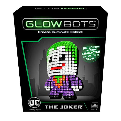 Goliath DC Glowbot The Joker, Multicolor