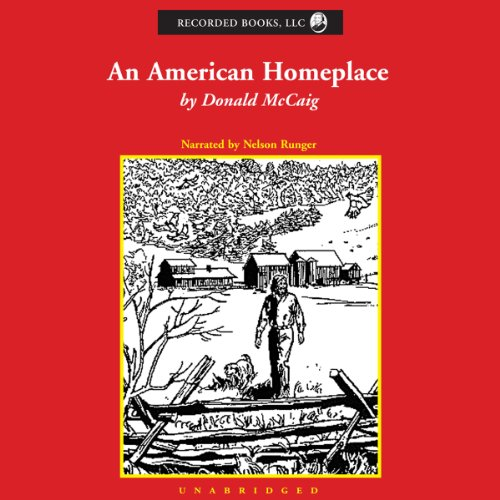 The American Homeplace audiobook cover art