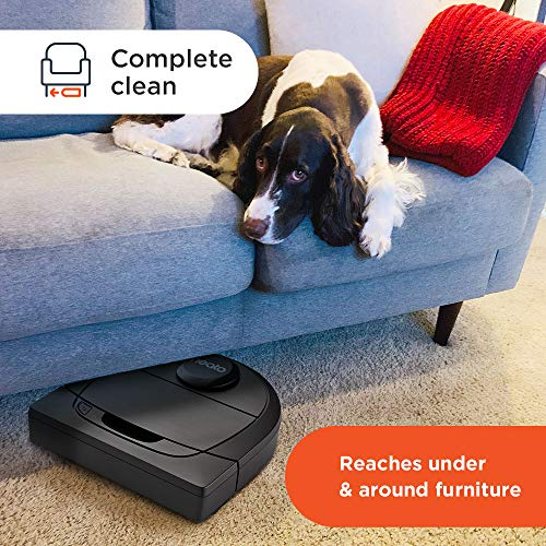 Neato Robotics D6 Connected Laser Guided Smart Robot Vacuum - Wi-Fi Connected, Multi Floor Mapping, Ideal for Carpets, Hard Floors and Pet Hair, Works with Alexa