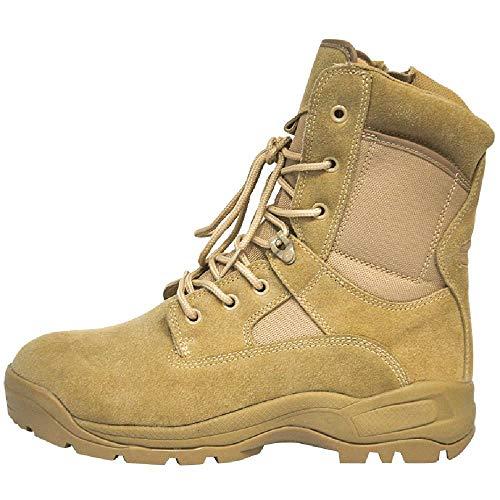 TAOBEGJ Botas Militares Ligeras Botas Combate Desierto La Selva para Hombres Al Aire Libre Botas Tácticas Zapatos Entrenamiento Ejército Botas Trabajo Seguridad para Senderismo,44