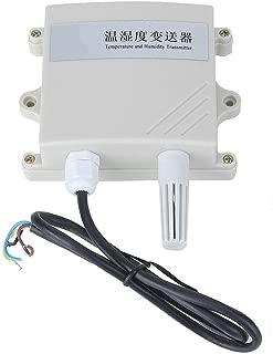 UT333S Medidor Digital Port/átil de Temperatura y Humedad Term/ómetro de Alta Precisi/ón Higr/ómetro LCD Higroterm/ógrafo con Cable Retr/áctil de Resorte