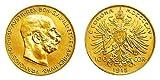 Franz Joseph 100 Kronen Gold NP,Goldmünze, monete d'impianto, oro giallo, metallo prezioso