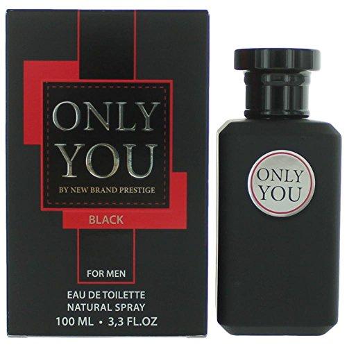 New Brand Prestige Only You Black For Men Edt 100Ml, New Brand