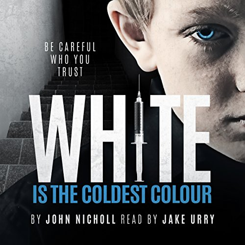 White Is the Coldest Colour audiobook cover art