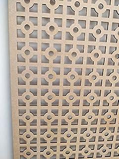 LaserKris - Mueble para radiador (Tablero DM Perforado, 4 x 2)
