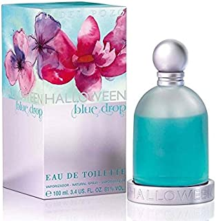 J. Del Pozo Halloween Blue Drop Eau de Toilette Spray for Women, 3.4 Ounce