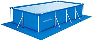 LKNJLL Juguetes Azules doméstica Rectangular Family Pool, 157 * 82 * 80, Engrosamiento Piscina for niños al Aire Libre for Adultos jardín del Patio Trasero (Size : 300x201x66CM)
