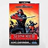 Aditi Shinobi 3 return of the ninja master 16 bit SEGA MD Game Card With Retail Box For Sega Mega Drive For Genesis