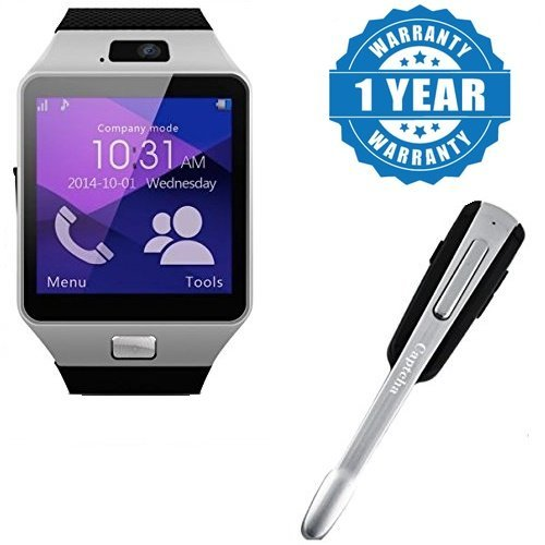 6d811cbf99a Drumstone Dz09 Bluetooth Smart Watch Phone With Camera And Sim Card With  HM1000 Wireless Bluetooth In