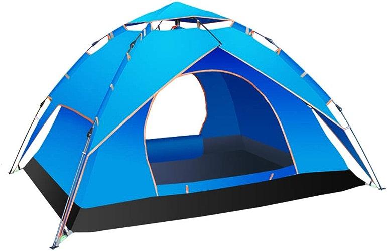 WQF Tente de Camping en Plein air, Tente de Camping en Plein air,bleu