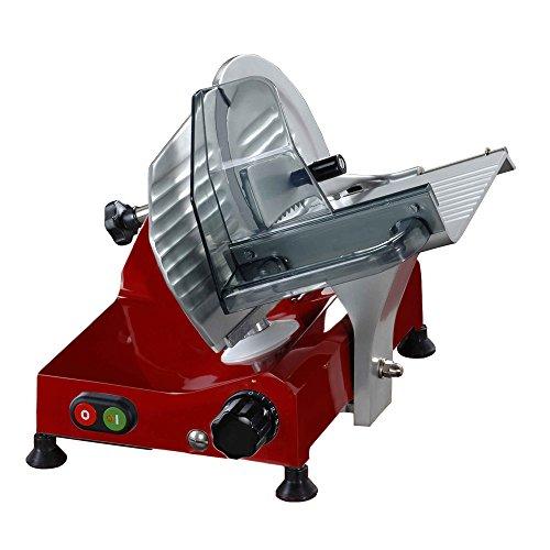 Fac 6195001cedo1Elektrische Aufschnittmaschine, Rot
