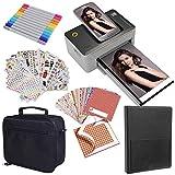 Kodak Dock 4x6 Printer Starter Bundle + Case + Photo Album + Sticker Frames