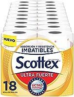 Scottex Papel de Cocina Ultra Fuerte - Pack de 18 Rollos