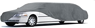 Coverking UVCLMO3N98 Universal Fit Car Cover for Limo Length 26.1 ft. to 28 ft. - Car Coverbond 4 Moderate Weather Outdoor (Gray)