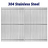 Utheer 7639 304 Stainless Steel Cooking Grid Grate (17.3 x 11.8) for Weber Spirit 300, Spirit 700, Genesis...