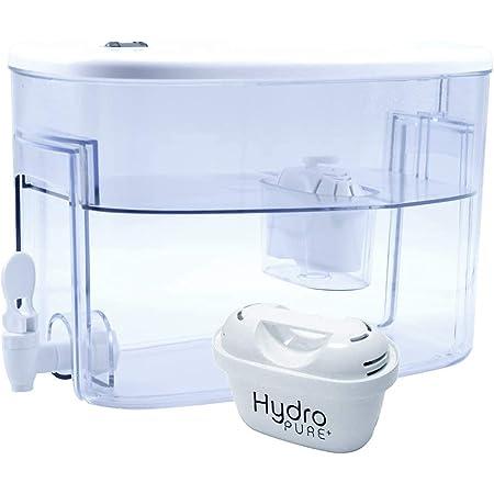 Boston Tech Fresia, Distributeur d'eau filtrée compatible avec les filtres Brita Maxtra, Maxtra plus et Boston Tech. Contient jusqu'à 9 litres. Un filtre cadeau