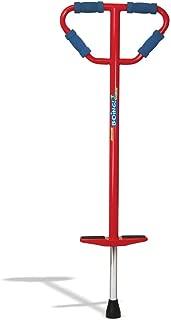 Geospace Medium Jumparoo Boing! Pogo Stick by Air Kicks for Kids 60 to 100 Lbs (Red)