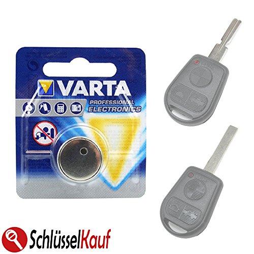 Knopfzellen Schlüssel Batterie Autoschlüssel passend für BMW E36 E38 E39 E46 Z3