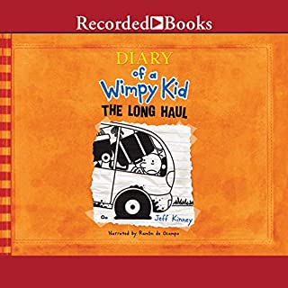 Diary of a Wimpy Kid: The Long Haul                   Written by:                                                                                                                                 Jeff Kinney                               Narrated by:                                                                                                                                 Ramon De Ocampo                      Length: 1 hr and 53 mins     7 ratings     Overall 5.0