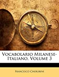 Vocabolario Milanese-Italiano, Volume 3