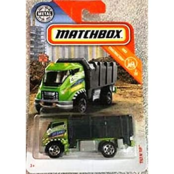 2019 Matchbox Real Working Rigs Garbage King HD Garbage Truck Waste Services