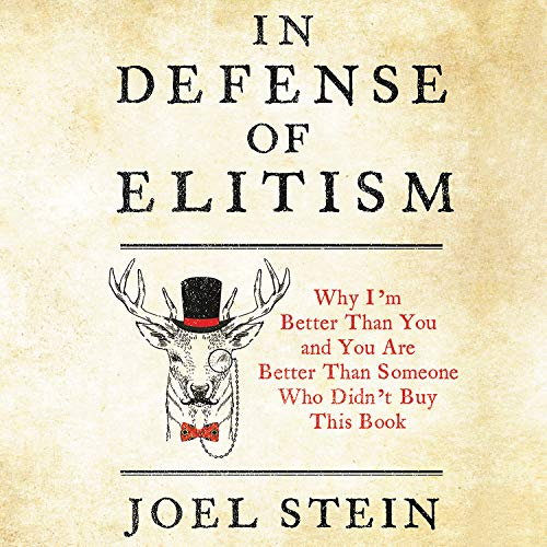 In Defense of Elitism  By  cover art