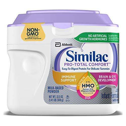 Similac Pro-Total Comfort Non-GMO Infant Formula Powder, 22.5 Oz Tub, 1.4 Pound