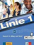 Linie. Per la Scuola media. Con e-book. Con espansione online: Linie 1 A1. Kurs- und Übungsbuch mit Video und Audio auf DVD-ROM [Lingua tedesca]