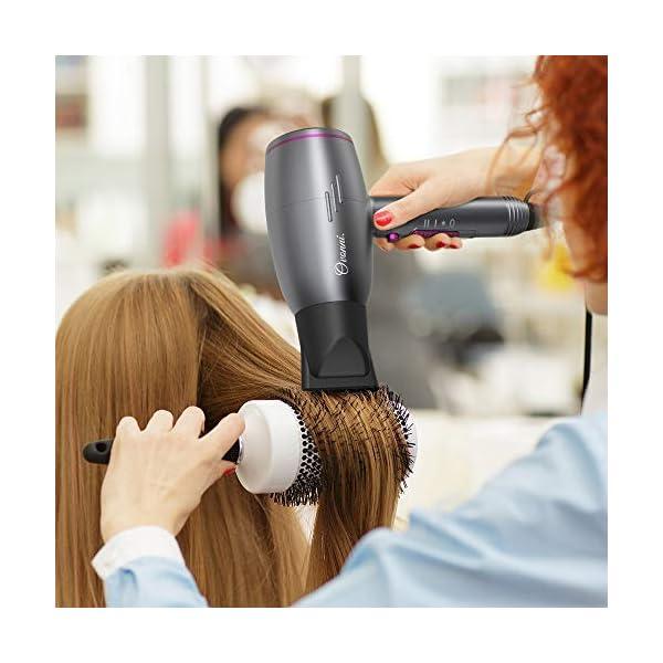 Beauty Shopping Ovonni Medium Hair Dryer with Diffuser, Pro 1875W Negative Ion Ceramic Tourmaline